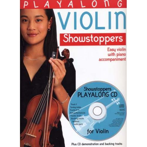 BOSWORTH PLAYALONG SHOWSTOPPERS VIOLIN + CD