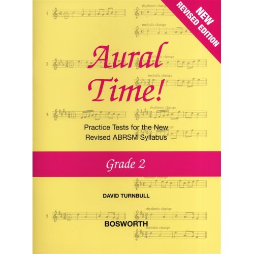 BOSWORTH DAVID TURNBULL - AURAL TIME GRADE 2 - VOICE