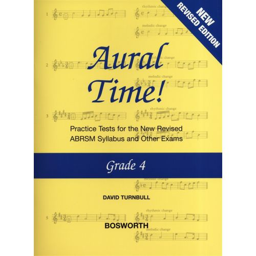 BOSWORTH DAVID TURNBULL - AURAL TIME GRADE 4 NEW EDITION - VOICE