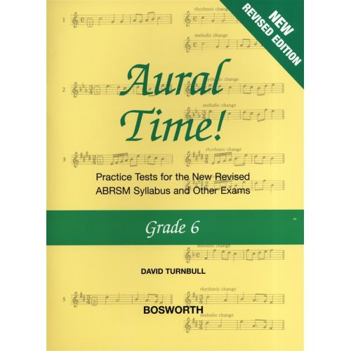 BOSWORTH DAVID TURNBULL - AURAL TIME GRADE 6 - VOICE