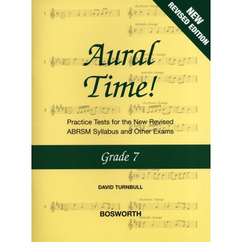 BOSWORTH DAVID TURNBULL - AURAL TIME GRADE 7 - VOICE