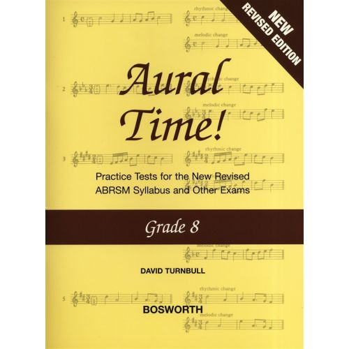 BOSWORTH DAVID TURNBULL - AURAL TIME GRADE 8 - VOICE