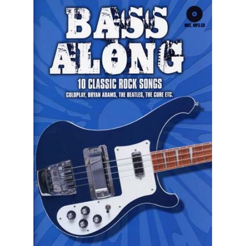 BOSWORTH BASS ALONG 10 CLASSIC ROCK SONGS + CD