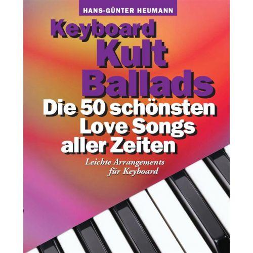 BOSWORTH KEYBOARD KULT BALLADS - DIE 50 SCHÖNSTEN LOVE SONGS ALLER ZEITEN - KEYBOARD