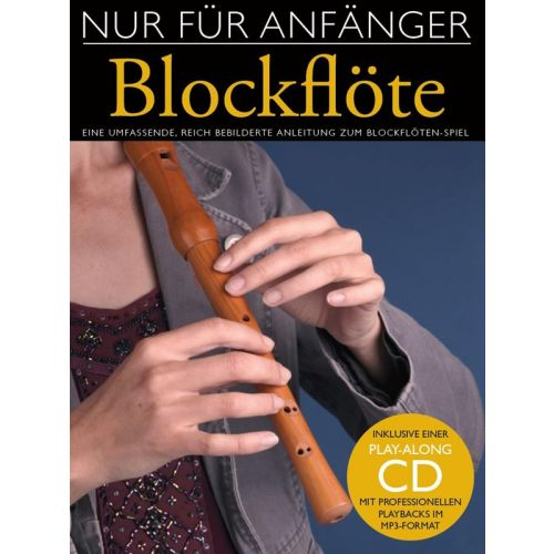 BOSWORTH NUR FUER ANFAENGER BLOCKFLOETE + CD - RECORDER