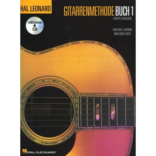 BOSWORTH HAL LEONARD GUITAR METHOD BOOK 1 GERMAN + CD - ELECTRIC GUITAR