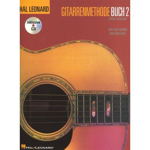 BOSWORTH HAL LEONARD GUITAR METHOD BOOK 2 GERMAN + CD - GUITAR