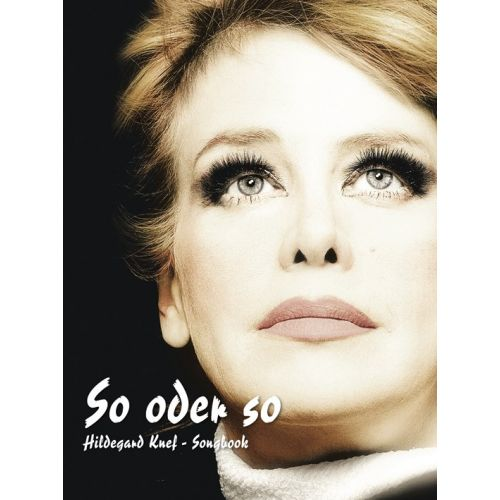 BOSWORTH HILDEGARD KNEF 'SO ODER SO' SONGBOOK - PVG