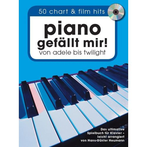 BOSWORTH PIANO GEFAELLT MIR SONGBOOK + CD - PIANO SOLO
