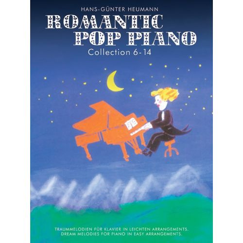 BOSWORTH ROMANTIC POP PIANO OMNIBUS EDITION VOLUMES 6-14 HEUMANN EASY - PIANO SOLO