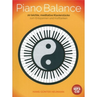 BOSWORTH HEUMANN H.G. - PIANO BALANCE - 20 EASY AND MEDITATIVE SONGS + CD