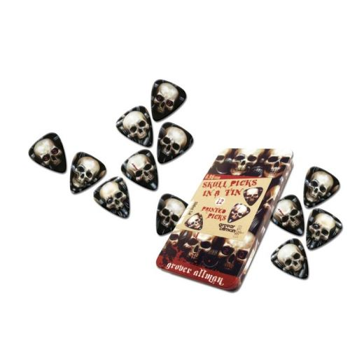 GROVER ALLMAN 12 PCS MEDIATORS BIOMECHANICAL SKULL