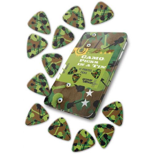 GROVER ALLMAN 12 PCS MEDIATORS CAMO