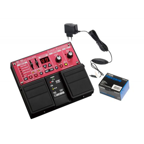 BOSS RC-30 + POWER SUPPLY