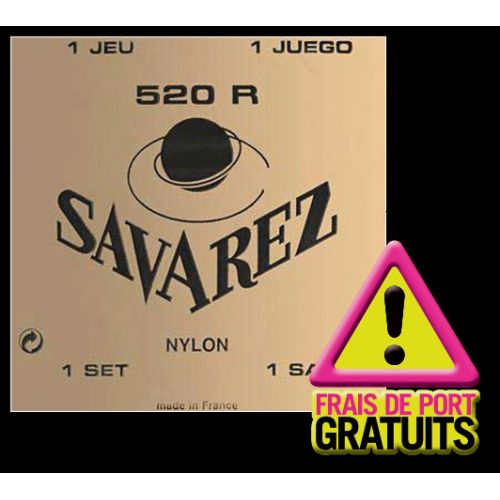 SAVAREZ 12 SETS 520R RED NORMAL TENSION