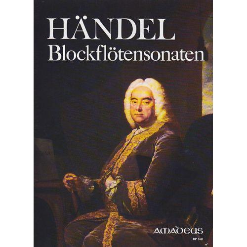 AMADEUS HAENDEL G.F. - BLOCKFLOTENSONATEN - RECORDER, BC