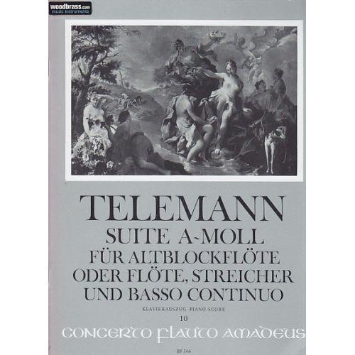 AMADEUS KLASSIKNOTEN - TELEMANN SUITE A-MOLL (LA MINEUR)