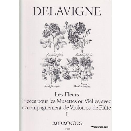 AMADEUS DELAVIGNE PH. - LES FLEURS VOL. 1 - 2 FLUTES A BEC