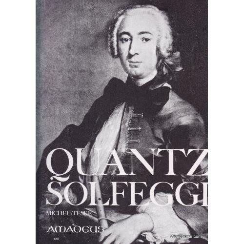 AMADEUS QUANTZ J. - SOLFEGGI