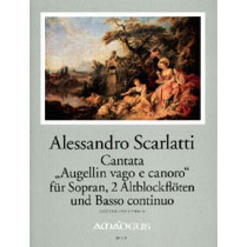 AMADEUS VOCAL SHEETS - SCARLATTI A. CANTATA