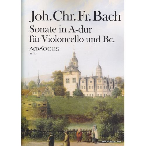 AMADEUS BACH J. CH. F. - SONATE IN A-DUR - VIOLONCELLO UND BC