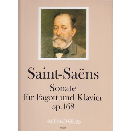 AMADEUS SAINT-SAËNS - SONATE FÜR FAGOTT UND KLAVIER OP.168