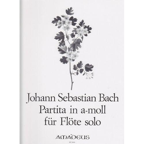 AMADEUS BACH J. S. - PARTITA IN A-MOLL FÜR FLÖTE BWV 1013