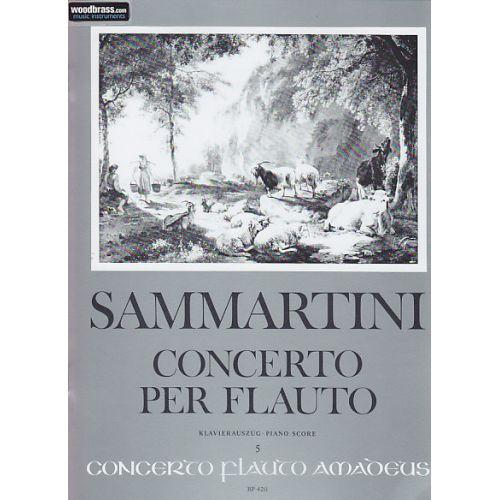 AMADEUS SAMMARTINI GIUSEPPE - CONCERTO PER FLAUTO