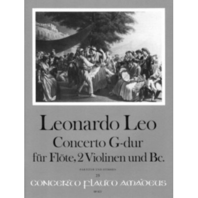 AMADEUS LEO LEONARDO - CONCERTO G MAJOR - CONDUCTEUR & PARTIES