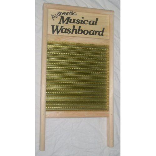ETHNO WASHBOARD BRASS (PLANCHE A LAVER)