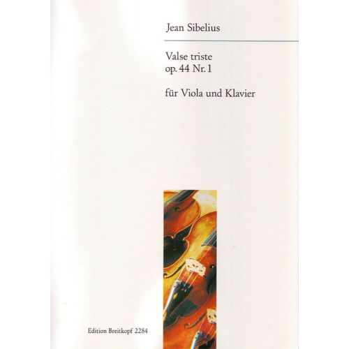 EDITION BREITKOPF SIBELIUS J. - VALSE TRISTE AUS OP. 44