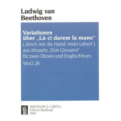 EDITION BREITKOPF BEETHOVEN L.V. - VARIATIONEN UBER