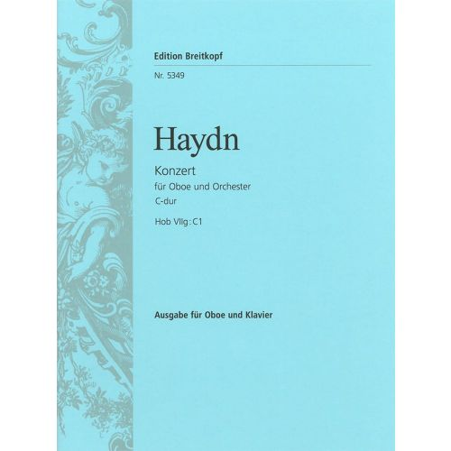 EDITION BREITKOPF HAYDN J. - OBOENKONZERT C-DUR HOB VIIG:C1