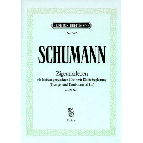 EDITION BREITKOPF SCHUMANN R. - ZIGEUNERLEBEN OP. 29/3