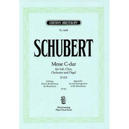 EDITION BREITKOPF SCHUBERT F. - MESSE C-DUR D 452