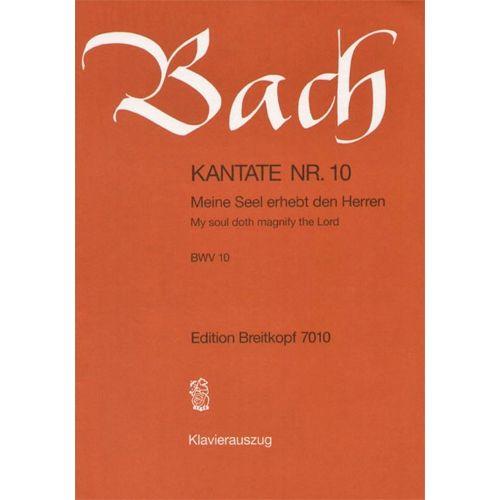 EDITION BREITKOPF BACH J.S. - KANTATE 10 MEINE SEELE ERHEBT