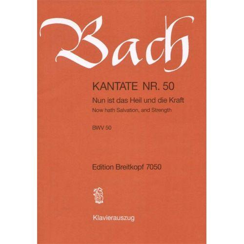 EDITION BREITKOPF BACH J.S. - KANTATE 50 NUN IST DAS HEIL