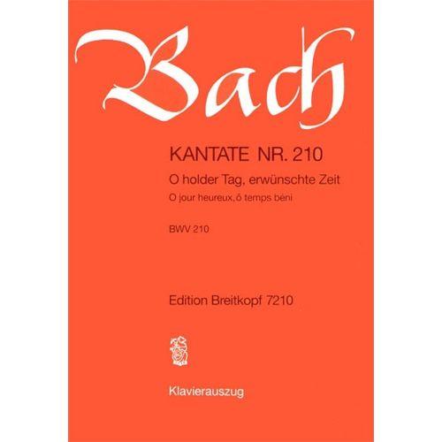 EDITION BREITKOPF BACH J.S. - KANTATE 210 O HOLDER TAG
