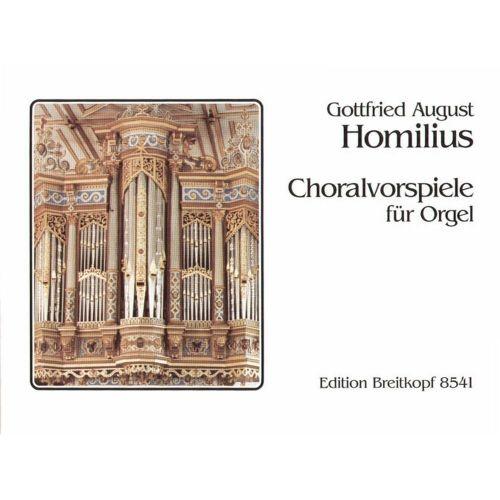 EDITION BREITKOPF HOMILIUS G.A. - CHORALVORSPIELE