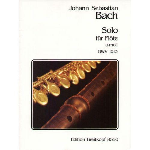 EDITION BREITKOPF BACH J.S. - SOLO A-MOLL BWV 1013