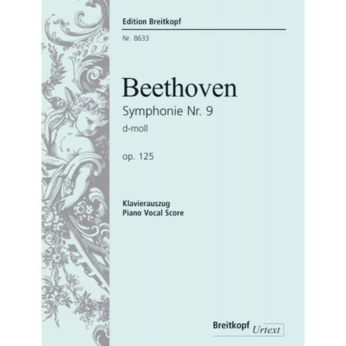 EDITION BREITKOPF BEETHOVEN L.V. - SYMPHONIE NR. 9 OP. 125