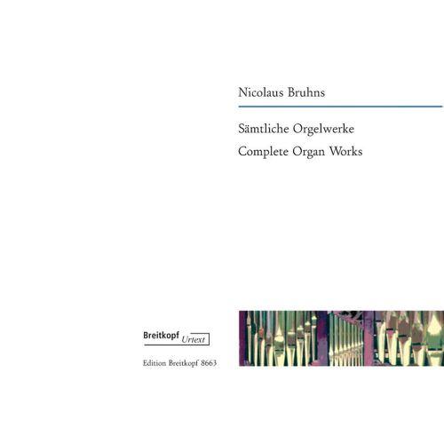 EDITION BREITKOPF BRUHNS N. - SAMTLICHE ORGELWERKE