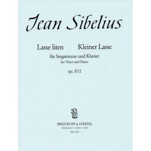 EDITION BREITKOPF SIBELIUS J. - LASSE LITEN - KLEINER LASSE