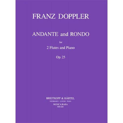 MUSICA RARA DOPPLER F. - ANDANTE UND RONDO OP. 25