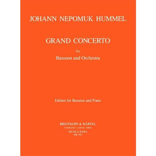 MUSICA RARA HUMMEL J.N. - GRAND CONCERTO