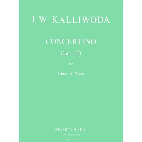 MUSICA RARA KALLIWODA J.W. - CONCERTINO OP. 110