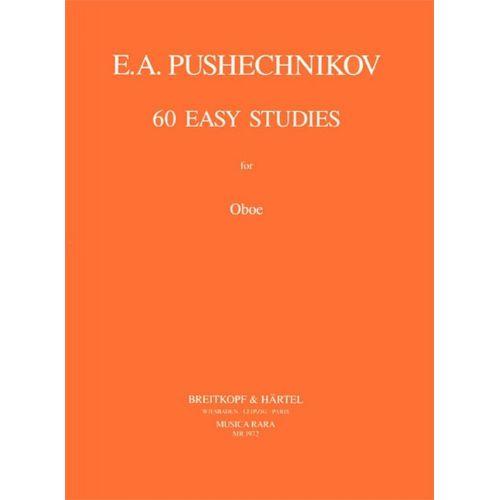 MUSICA RARA PUSHECHNIKOV I.F. - 60 LEICHTE STUDIEN