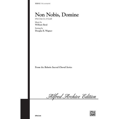 ALFRED PUBLISHING NON NOBIS DOMINE - MIXED VOICES