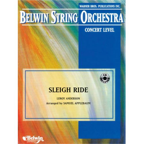 ALFRED PUBLISHING ANDERSON LEROY - SLEIGH RIDE - STRING ORCHESTRA