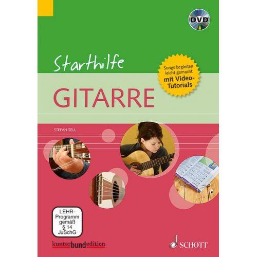 SCHOTT SELL S. - STARTHILFE GITARRE INKLUSIVE TUNER VON KORG - PAKET - GUITARE
